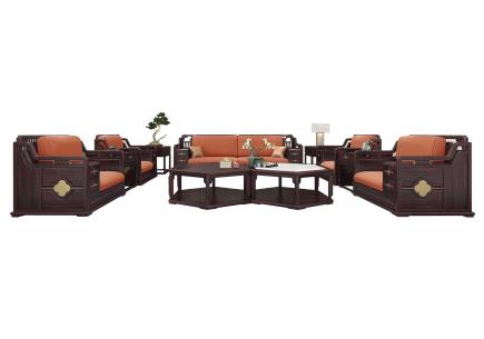 巴花大板书桌可以搭配哪些家具?