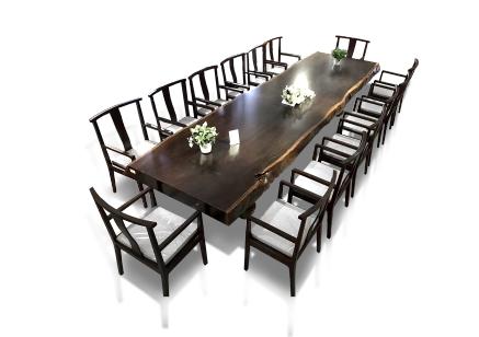 黑檀大尺寸會議桌
