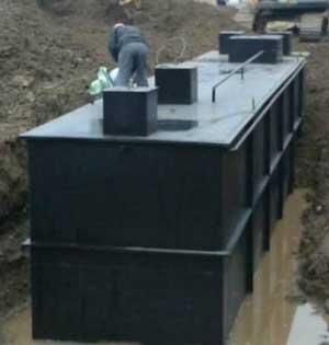 河池一体化地埋式污水处理设备