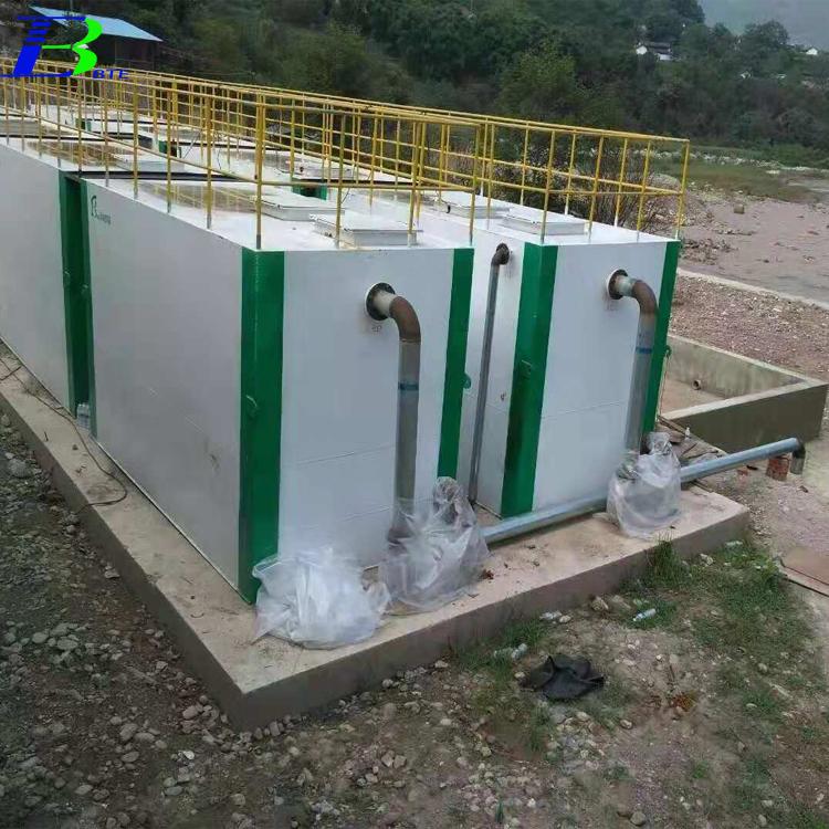 崇左一体化地埋式污水处理设备