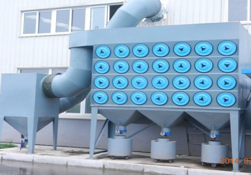 滤筒除尘器的相关工作流程讲解