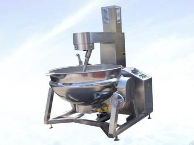 一种新型高效无死点的混合搅拌设备--电加热行星搅拌炒锅
