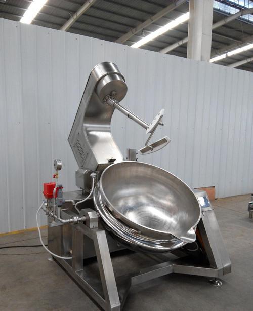 行星搅拌炒锅设备的几种加热方式有什么区别?
