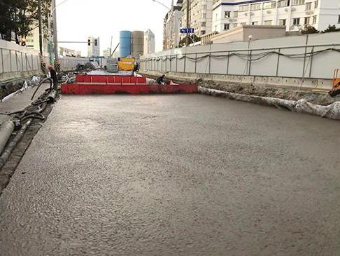 泡沫混凝土路桥应用