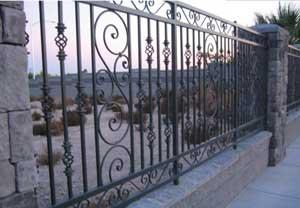 来宾铁艺围墙护栏