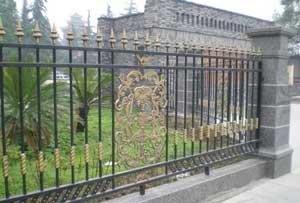 三亚铁艺围墙护栏