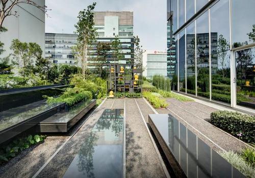 商业屋顶花园