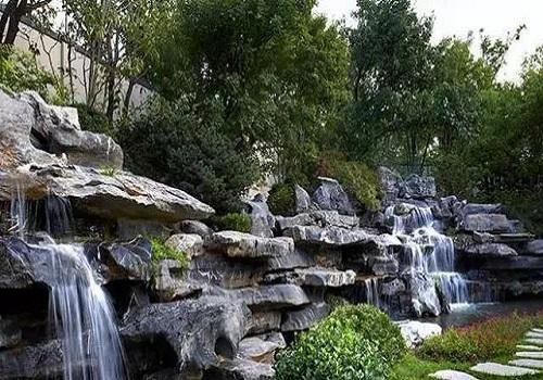 庭院水体在庭院景观设计中有着重要作用!