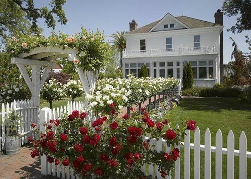 想要温馨甜蜜的别墅花园,就要这样来设计!