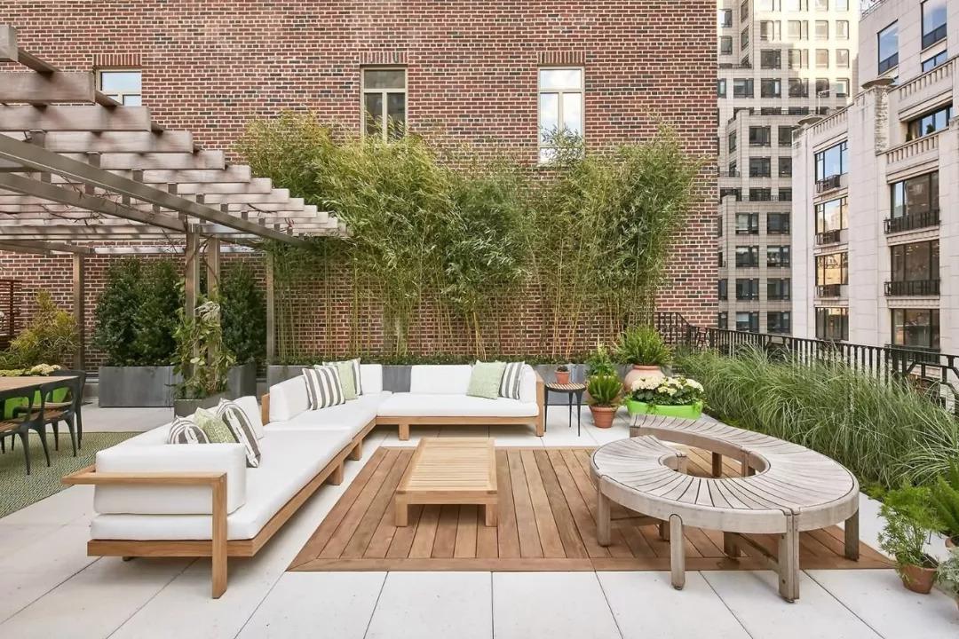 常见的西安屋顶花园植物造景方式的设计