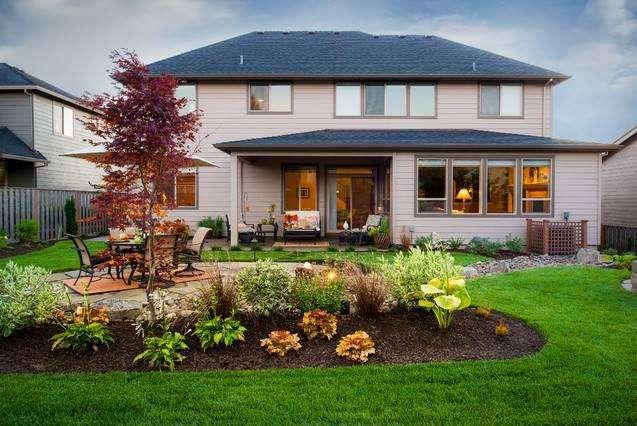 美式田園風格的私家庭院景觀設計構思