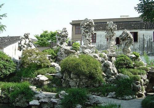 庭院假山景观