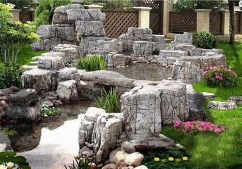 庭院假山施工