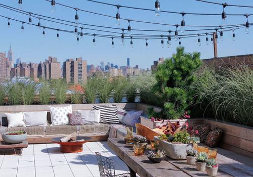 西安屋顶花园