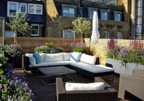 屋顶露台花园设计
