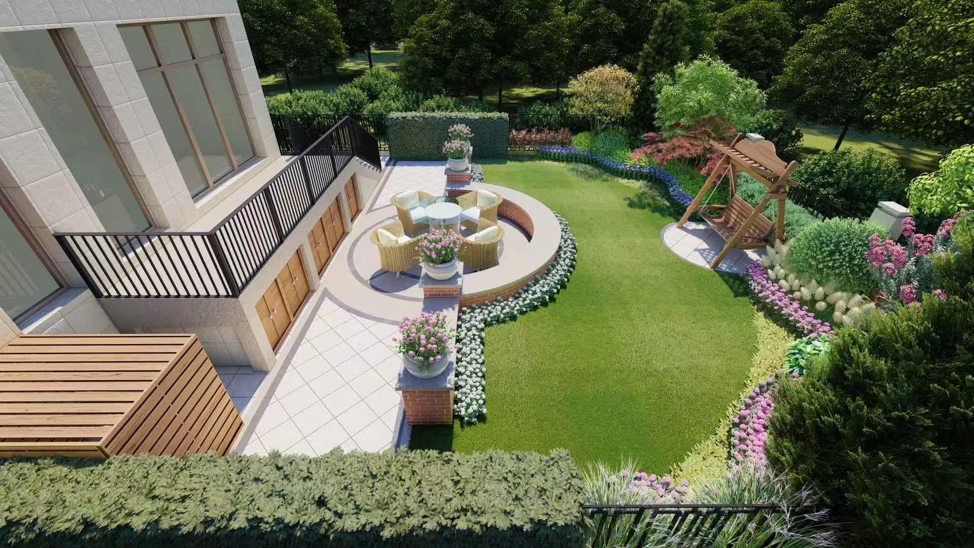 新中式 庭院设计案例