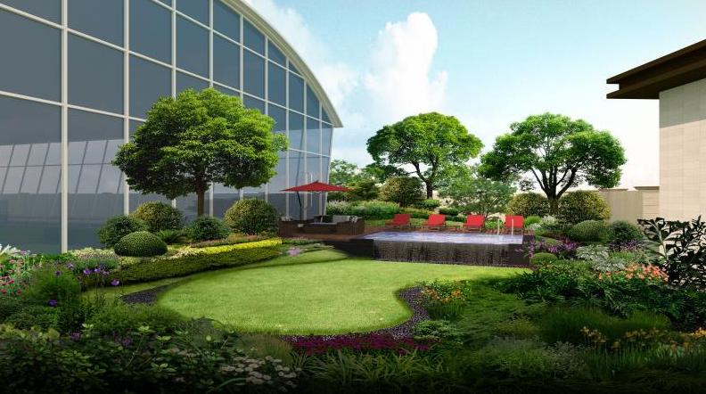 怎么判断一个新小区的庭院景观设计水准呢?