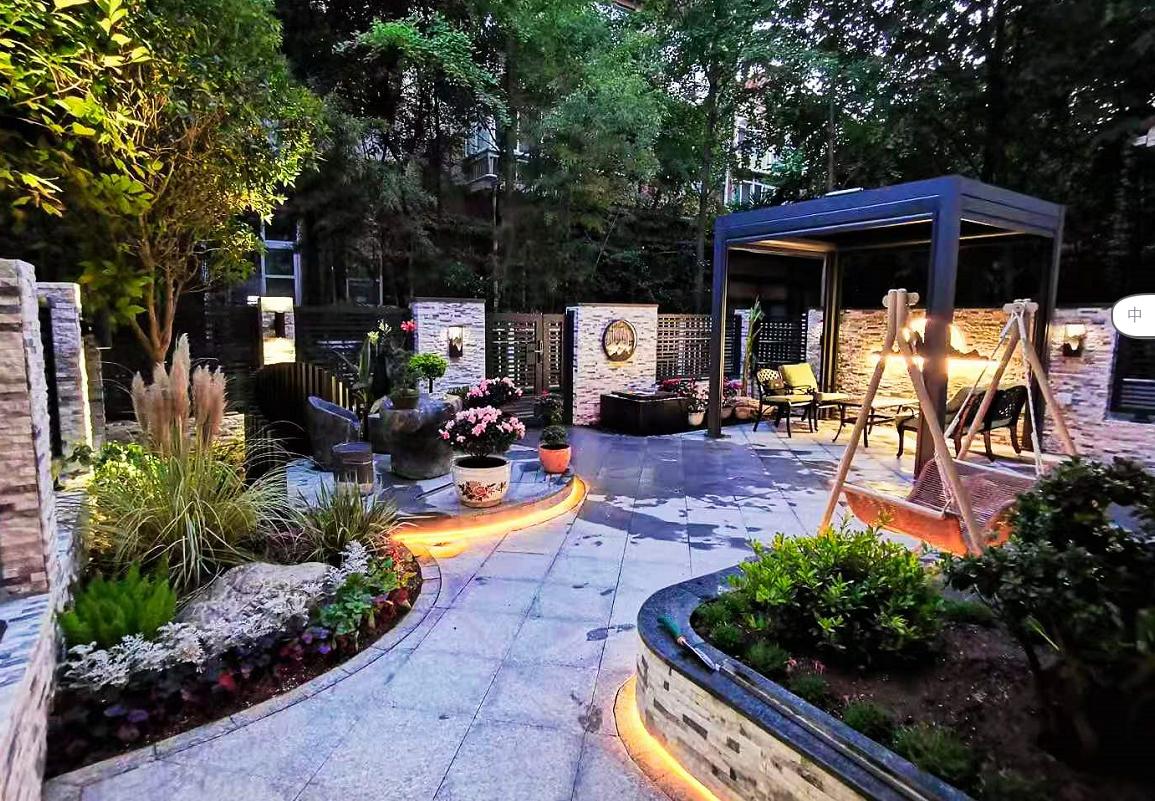 美丽的洋房花园怎样设计打造?
