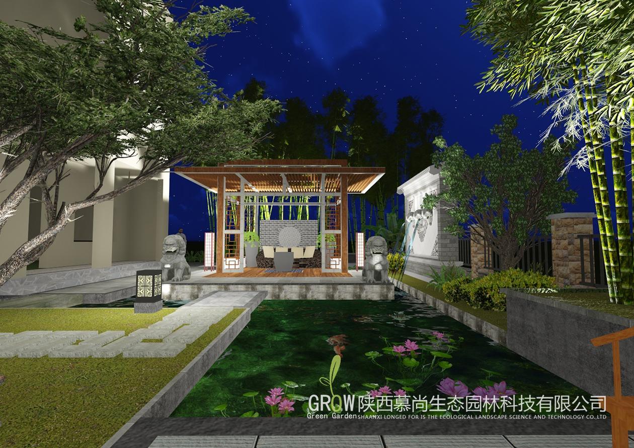 庭院水池设计