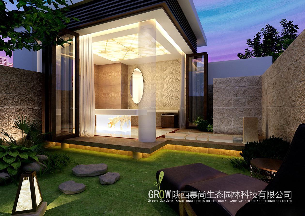 小庭院简单设计