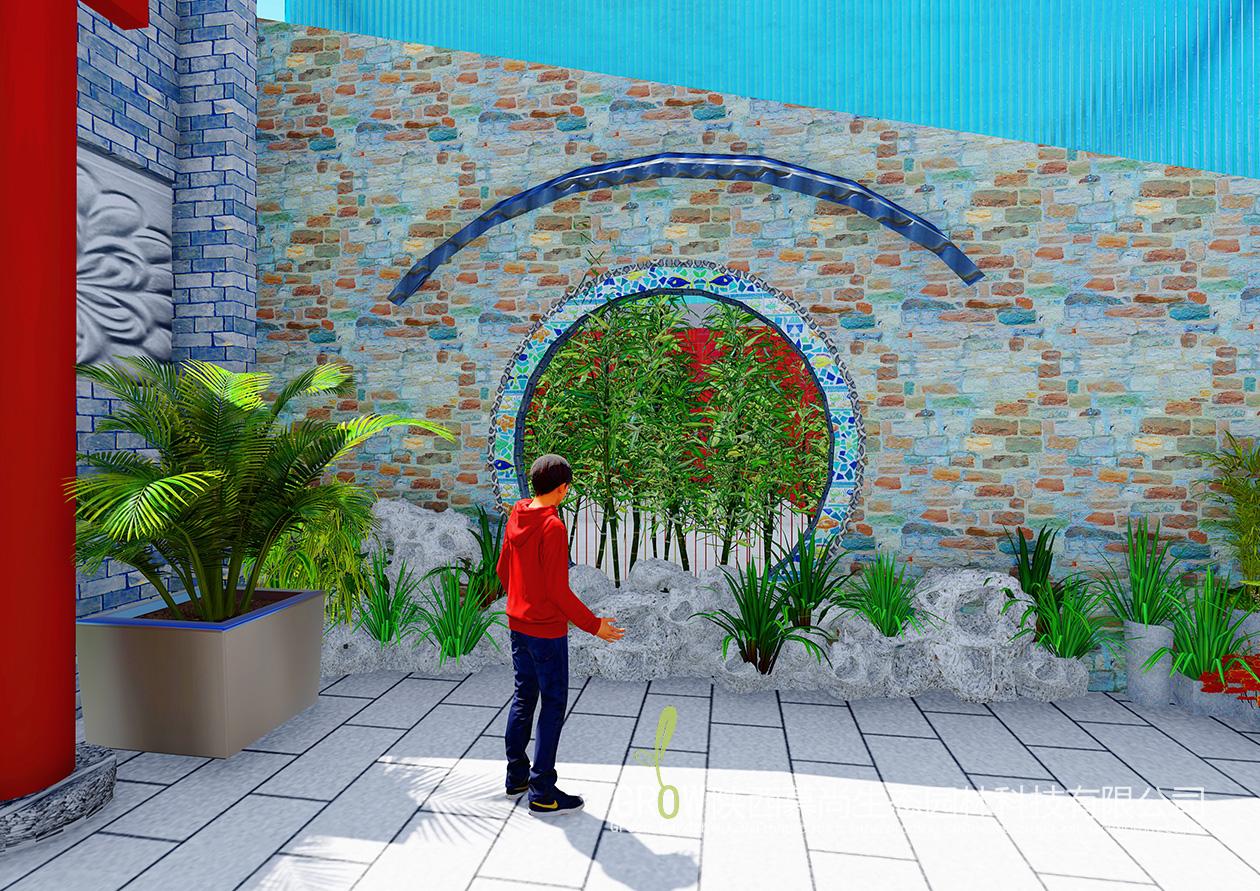 福园巷子庭院景观设计