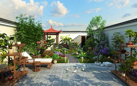 私家花园设计私密性  享受品质生活