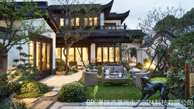别墅小庭院设计
