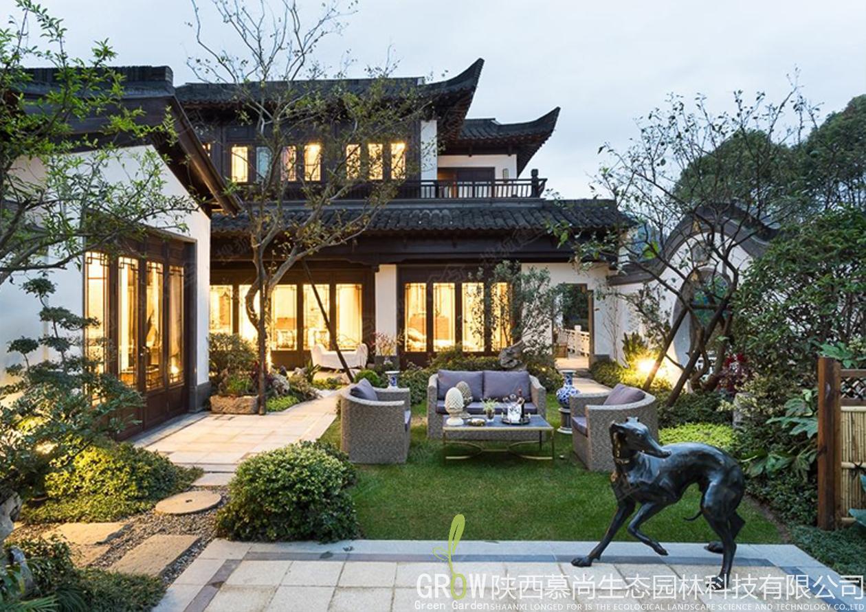 西安别墅景观设计公司
