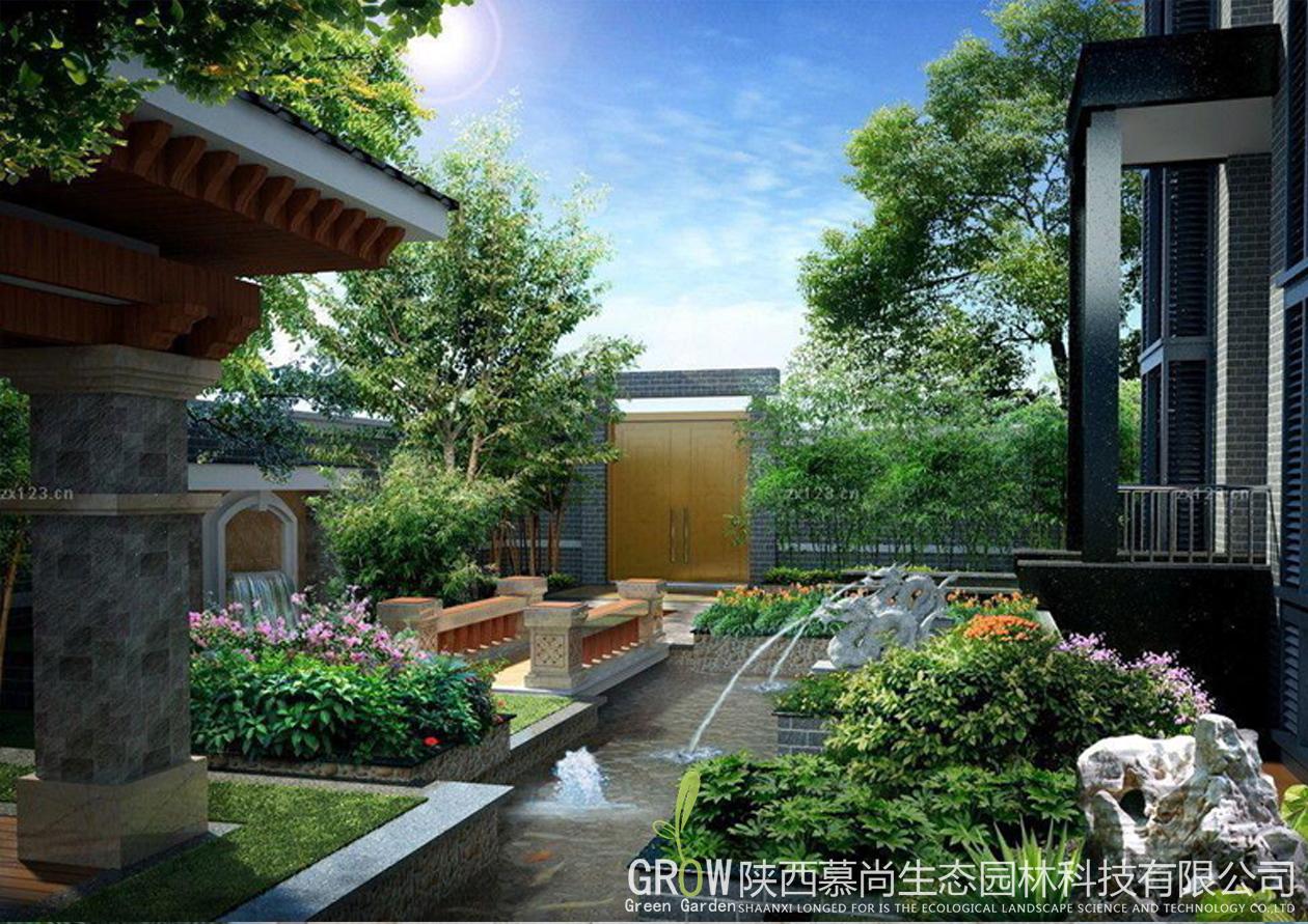 西安私家庭院景观