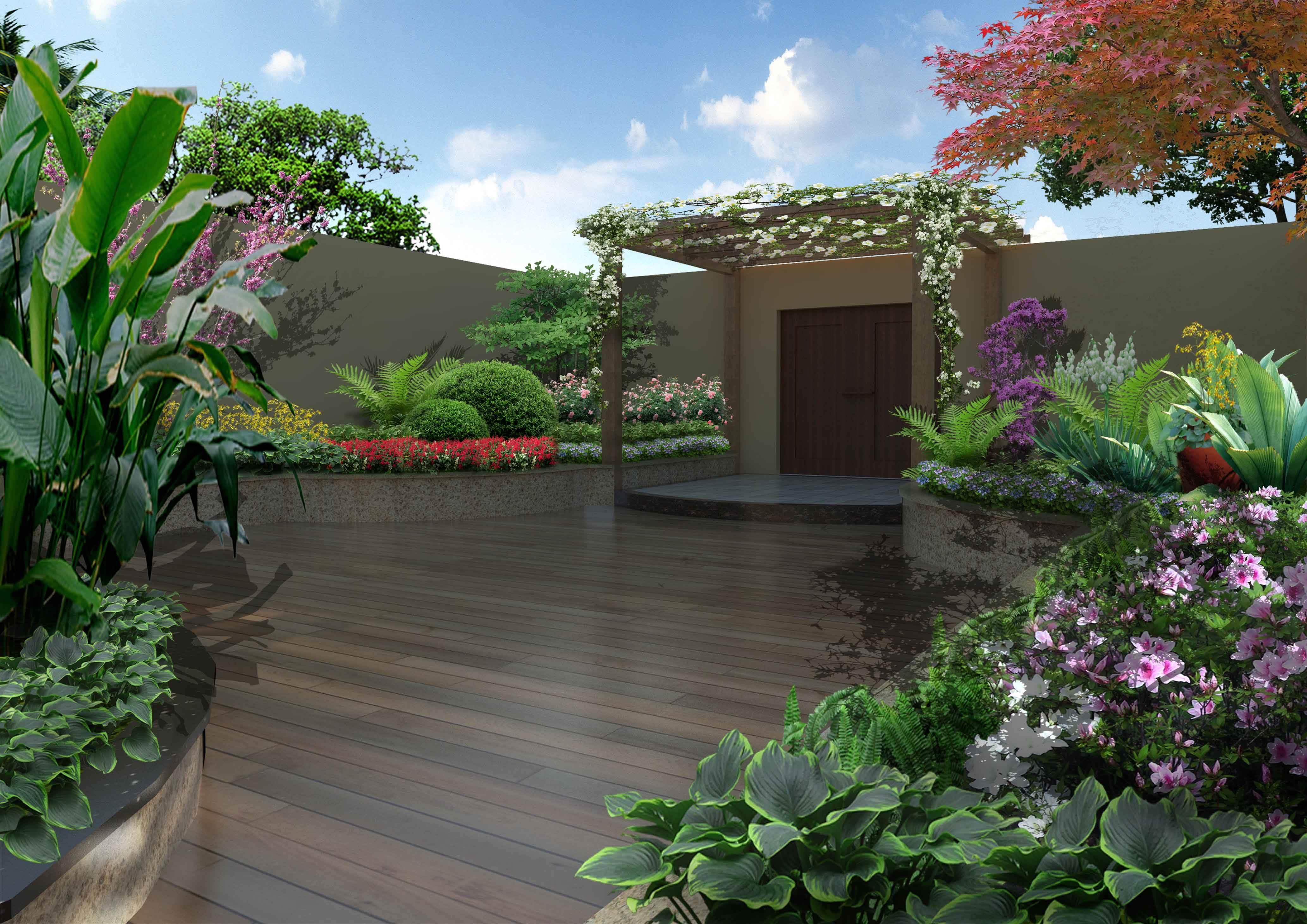 私家花园景观