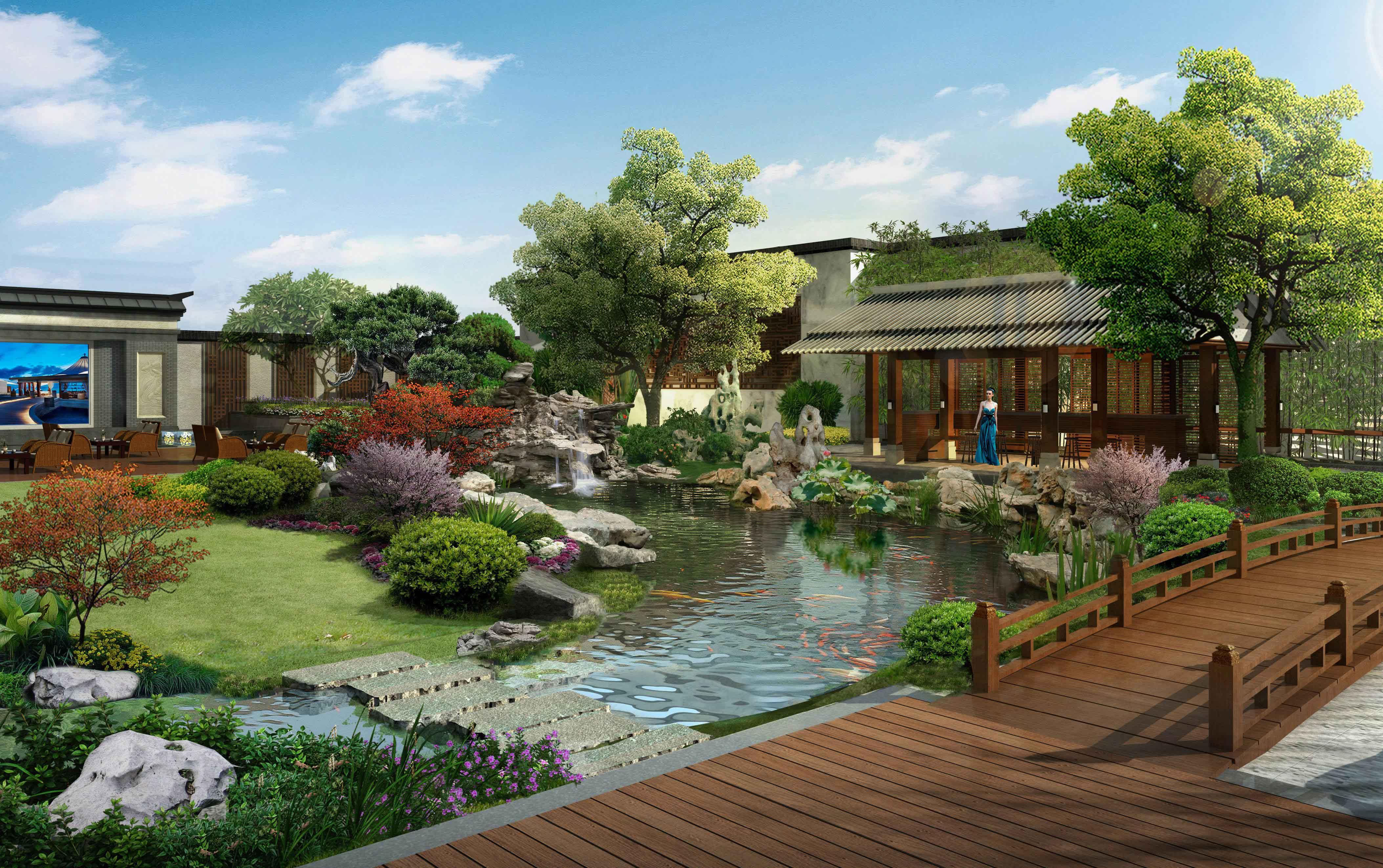 中式私家花园