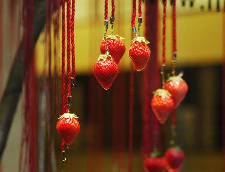 赋有东方传奇的太原红色婚礼现场布置