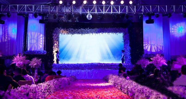 商务服务 创意设计 山西最好的婚庆公司婚礼灯光巧安排让宴会艳羡不已