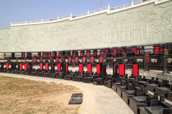 西安陵园解说墓地风水背面的故事