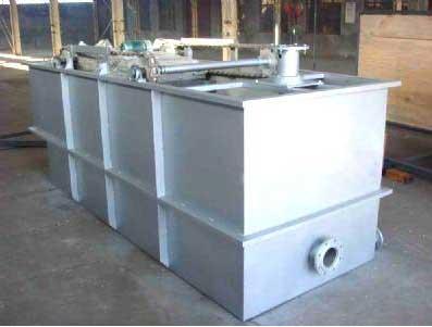 一体化小型污水处理设备的组团式污水处理站
