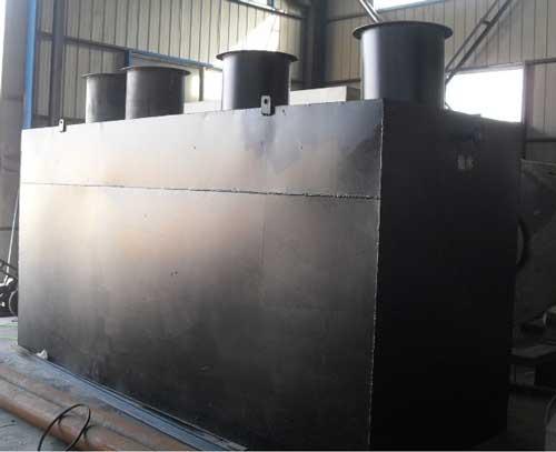 一体化养殖污水处理设备的常规预处理工艺流程