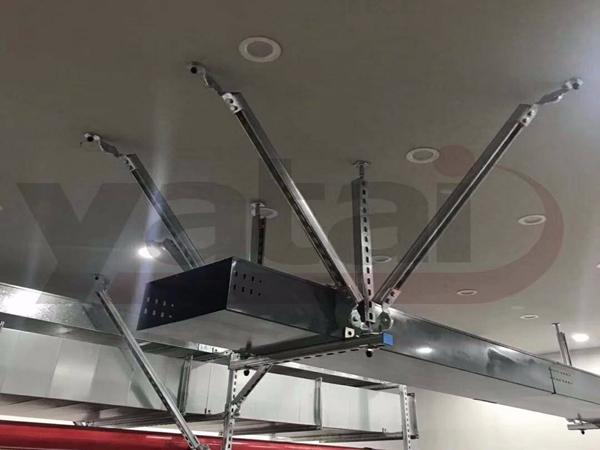 抗震支吊架安装过程中的任何偏差都会影响到实际抗震效果