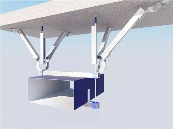 管道抗震支架建筑机电抗震系统的选用