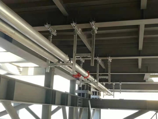 钢结构管道固定支架