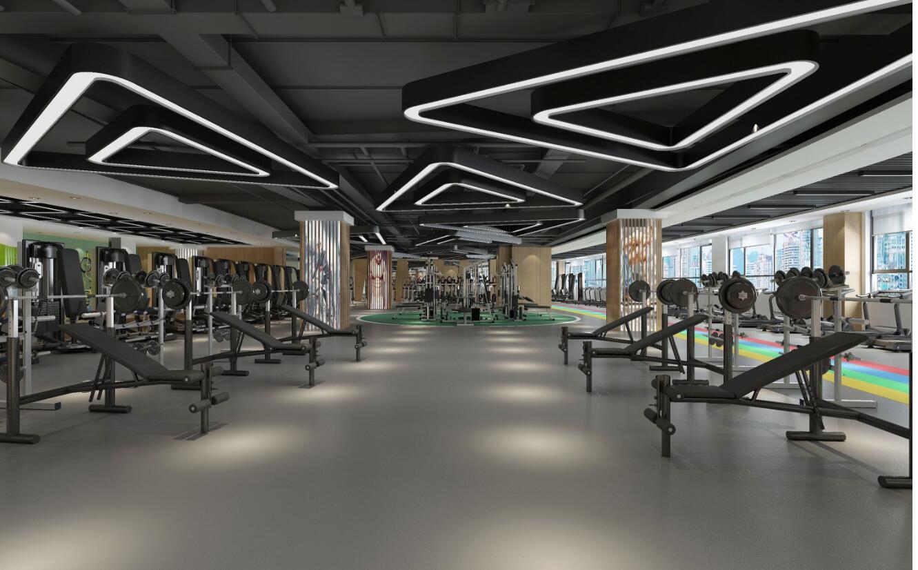 西安銀座健身360度全景展示