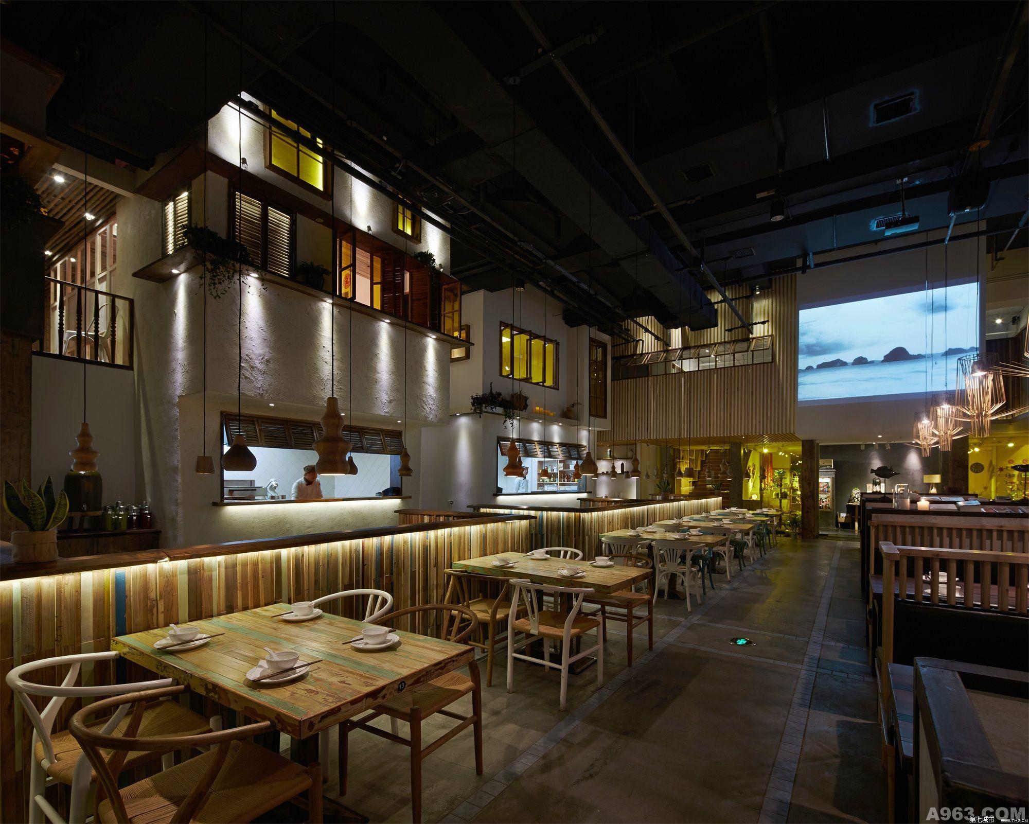 蓮餐廳全景展示
