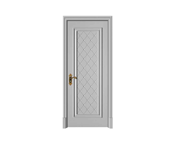 如何调整因施工造成的木门门缝