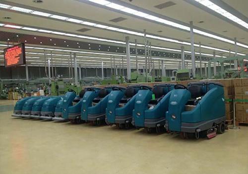 黑龙江烟草工业有限责任公司使用坦能洗地机系列产品