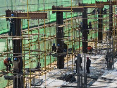 新西兰建筑工地