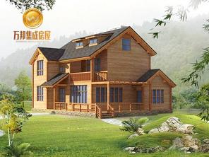 双层木屋别墅