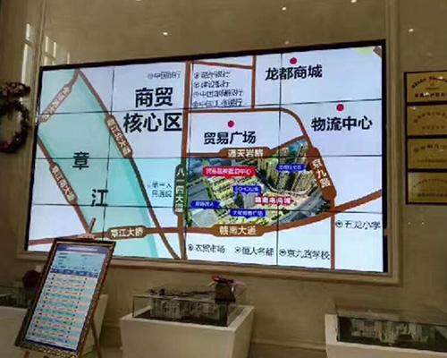 海信液晶拼接大屏幕