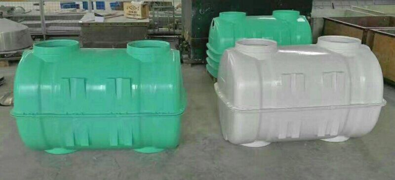 新农村建设化粪池(SMC模压玻璃钢化粪池)