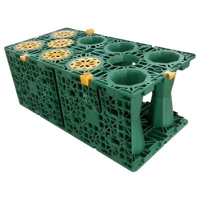 (绿色)pp雨水收集模块昆明地区销售产品展示