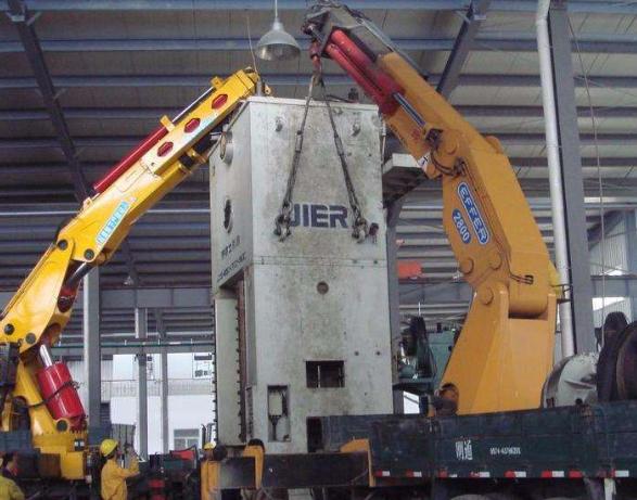 设备搬运中的拆卸方案