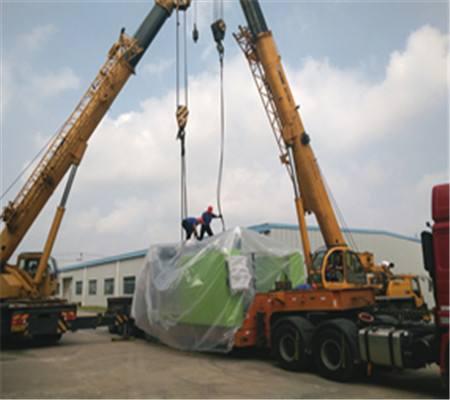 怎样提高设备搬迁时的装卸精度